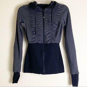 lululemon athletica Jackets & Coats - COPY - Lululemon Dance Studio Blk/Gray Reversible…